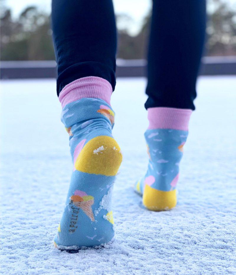 cool socks ice cream sock