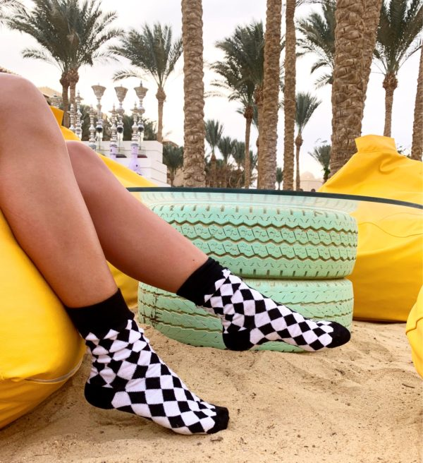 black diamond sock cool socks
