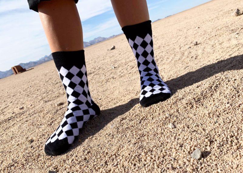 cool socks black diamond sock desert
