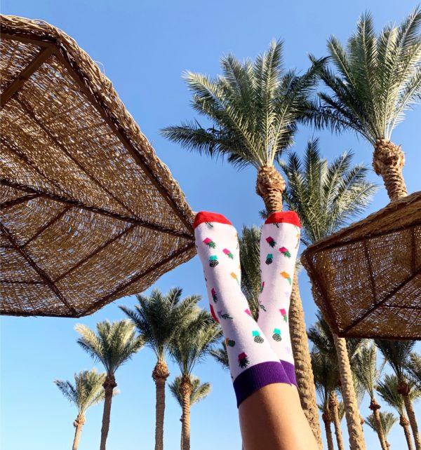 cool socks cactus sock palmtrees
