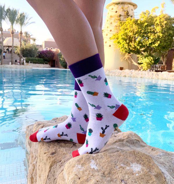 cool socks cactus sock