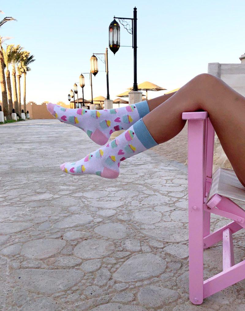 cool socks cupcake sock