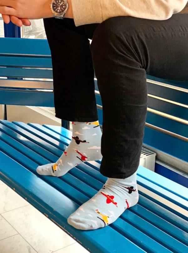 cool socks high as a kite sock