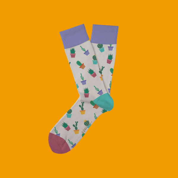 Cactus Sock Cool Socks
