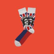 Strumpor med God Save the Queen!