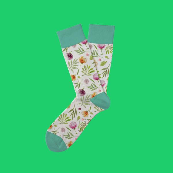 Strumpor med sommarblommor! prenumeration