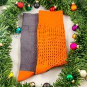 Oranga strumpor från Cool Socks