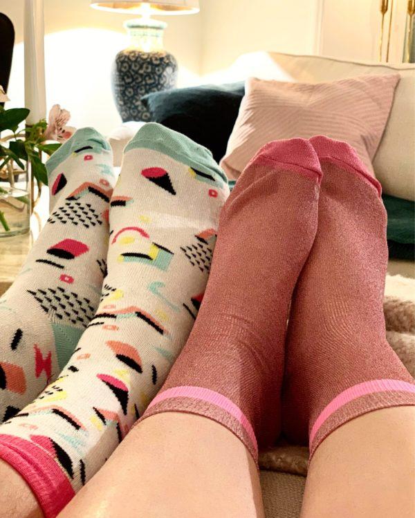 cool socks modern art sock