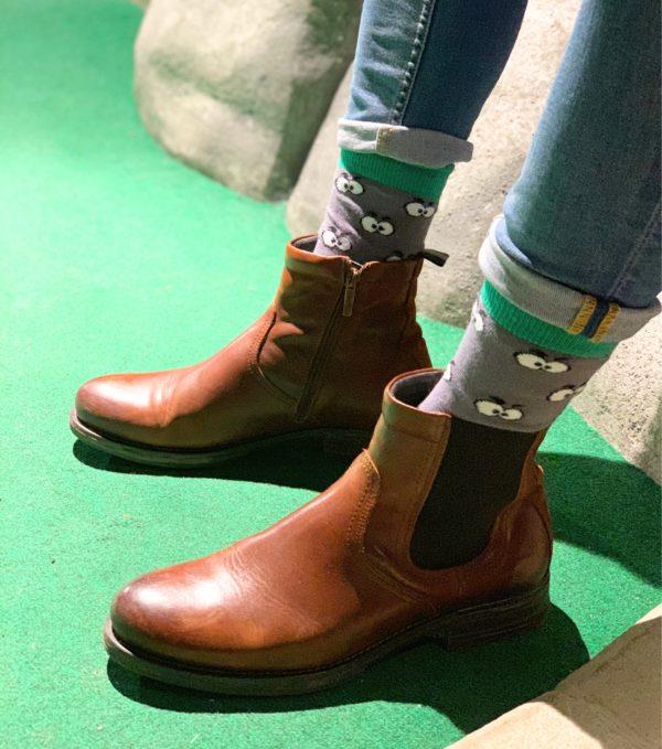 cool socks peek a boo sock