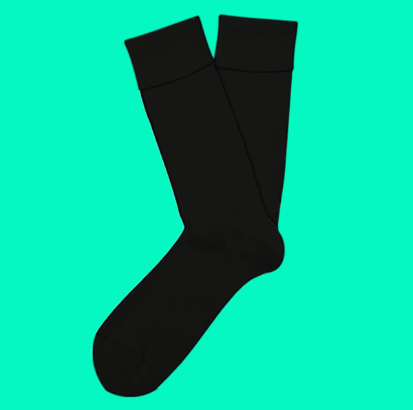 cool socks rock the black sock