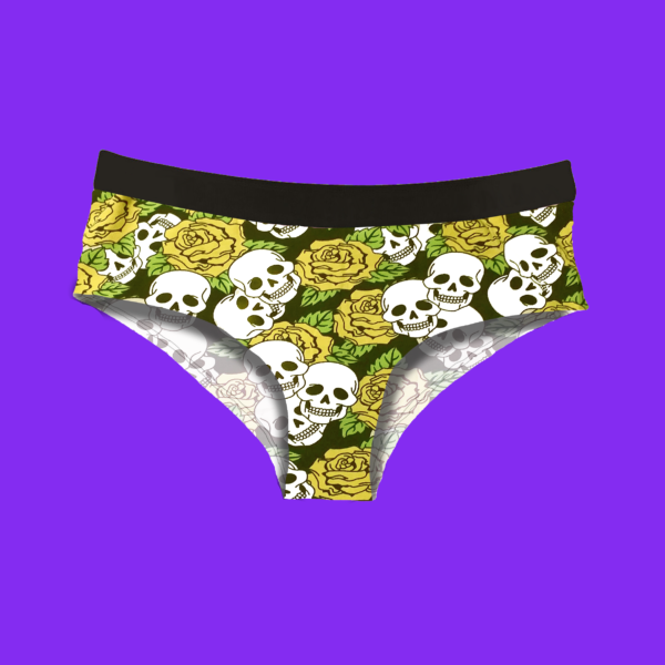 skull and roses hipsters coolsocks