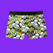 skull and roses trunk coolsocks